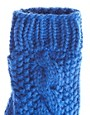Image 2 ofASOS Cable Mitten With Fleece Lining