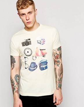 Merc T-shirt with Mod Challenge Print