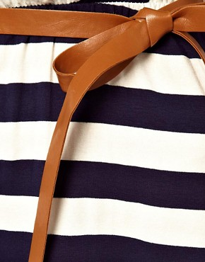 Image 3 of Wal G Twisted Stripe Dress