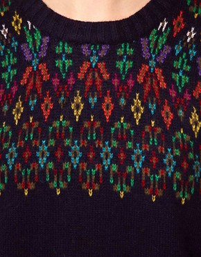 Image 3 of Paul and Joe Sister Intarsia Fairisle Sweater