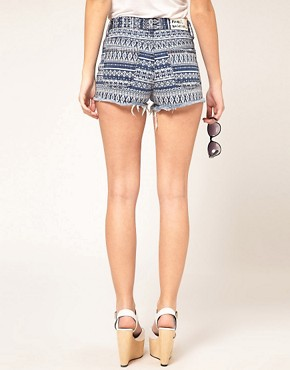 Image 2 ofWashborn Printed Shorts