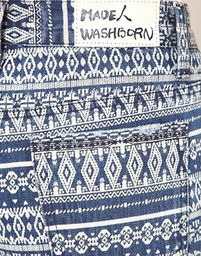 Image 3 ofWashborn Printed Shorts