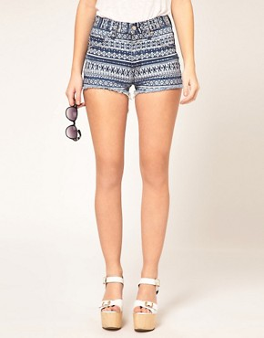 Image 4 ofWashborn Printed Shorts