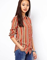 Equipment Silk Striped Shirt