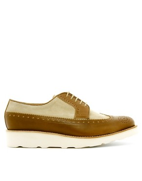 Image 4 ofThe Generic Man Wingman Wedge Brogues