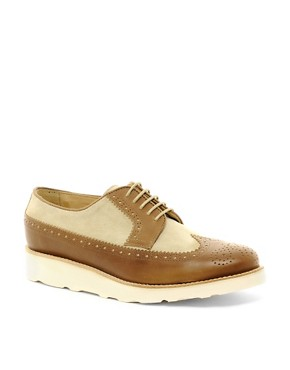 Image 1 ofThe Generic Man Wingman Wedge Brogues