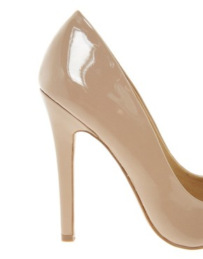 Image 4 of ASOS PROXY Pointed High Heels with Toe Cap