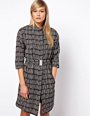ASOS Mono Belted Mac