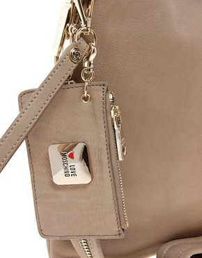 Image 2 ofLove Moschino Leather One Love Bag
