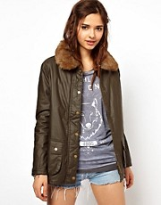 River Island Waxed Jacket