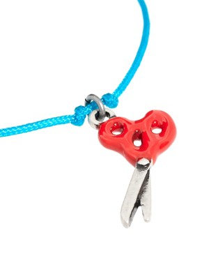 Image 4 ofCath Kidston Scissors Charm Bracelet