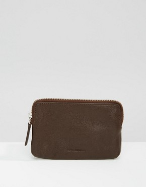 Royal RepubliQ Fuze Coin Wallet In Brown