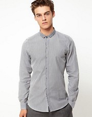 Vito Stripe Gingham Shirt
