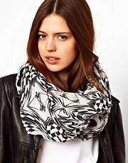 ASOS Monochrome Aztec Snood