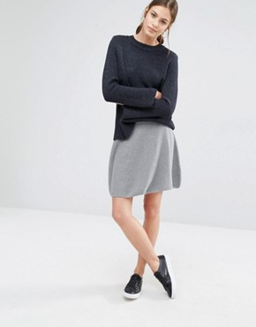 Boss Orange Ibena Waffle Knit Skirt