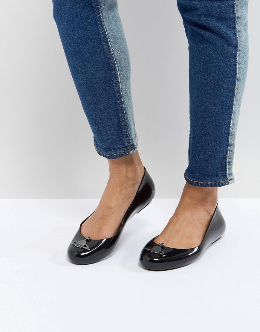 Imagen principal de producto de Zapatos planos negros Space Love de Vivienne Westwood for Melissa - Vivienne Westwood for Melissa