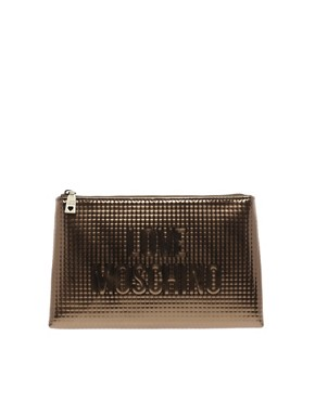 Image 1 ofLove Moschino Sculpture Clutch Bag