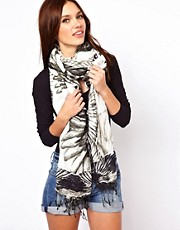 Warehouse Abstract Bird Scarf