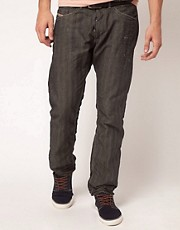 Diesel Braddom 6660R Herringbone Jeans