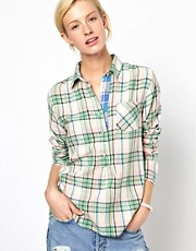 Mih Pull On Check Shirt