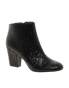 Image 1 ofASOS ALL THAT JAZZ Glitter Ankle Boots