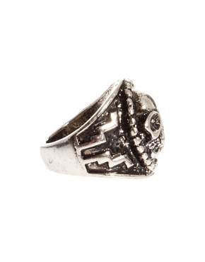 Image 4 ofASOS Large Skull Ring