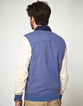 Image 2 ofASOS Varsity Jacket