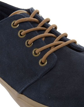 Image 2 ofASOS Plimsolls in Suede