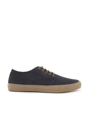 Image 4 ofASOS Plimsolls in Suede