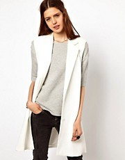 Just Female Sleeveless Blazer