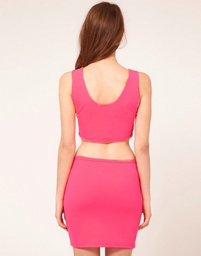 Image 2 ofPearl Neon Cut Out Dress