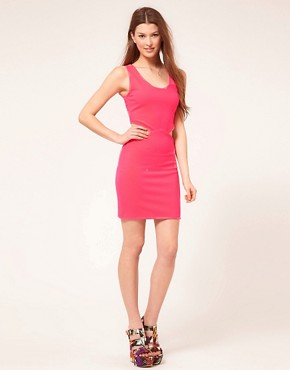 Image 4 ofPearl Neon Cut Out Dress