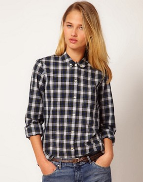Image 1 ofYMC Tartan Check Shirt