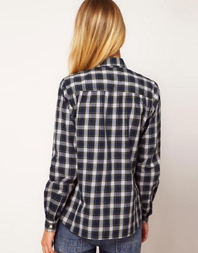 Image 2 ofYMC Tartan Check Shirt
