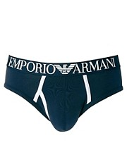Emporio Armani Contrast Colour Brief