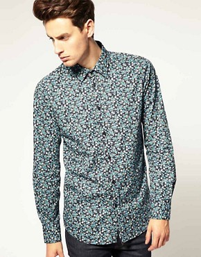 Image 1 ofDr Denim Roland Floral Shirt
