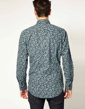 Image 2 ofDr Denim Roland Floral Shirt
