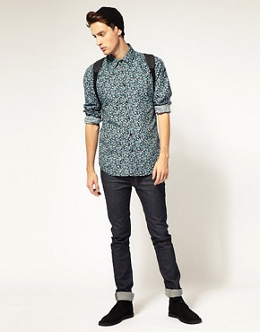 Image 4 ofDr Denim Roland Floral Shirt