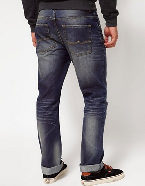 Image 2 ofASOS Straight Mid Wash Jeans