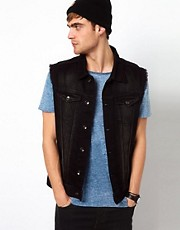 River Island Denim Gilet