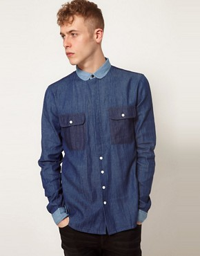 Image 1 ofTwo Square Denim Shirt