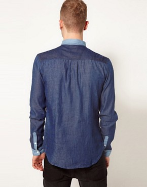 Image 2 ofTwo Square Denim Shirt