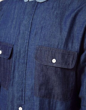 Image 3 ofTwo Square Denim Shirt