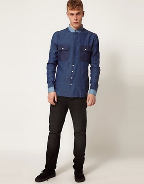 Image 4 ofTwo Square Denim Shirt