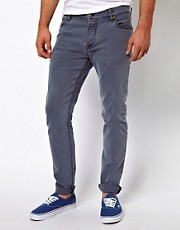 ASOS Skinny Jean In Washed Grey