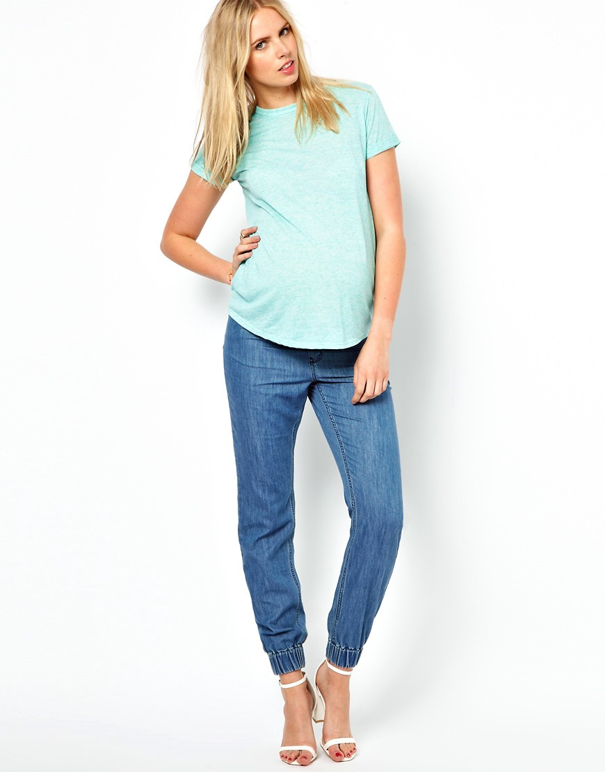 Image 4 of ASOS Maternity Exclusive T-Shirt In Neppi