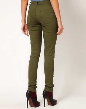 Image 2 ofASOS Skinny Trousers in Cotton Twill