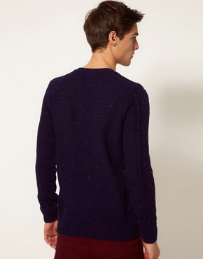 Image 3 of ASOS Cable Knit Jumper