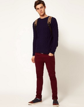 Image 1 of ASOS Cable Knit Jumper