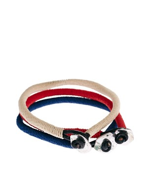 Image 2 ofIcon Brand Cord Bracelet Pack